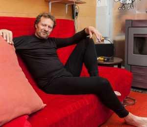 ikzelf in mijn ondergoed (foto Gert Arijs)