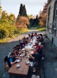 mijn vorige co-housing ervaring in Kain (van 1997 tot 2005)
